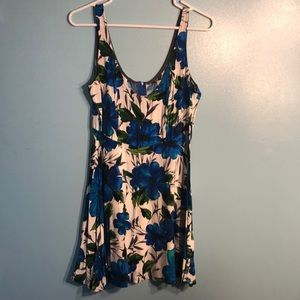 Blue flower sundress